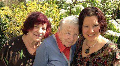 Esther Kane, Marion Kane, Ruth Schachter
