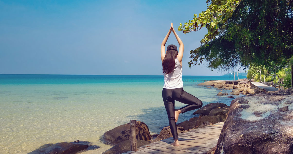 One Woman's Story About Finding balance