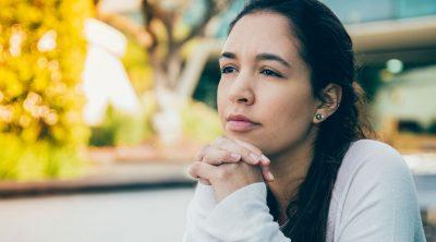 Highly sensitive young woman